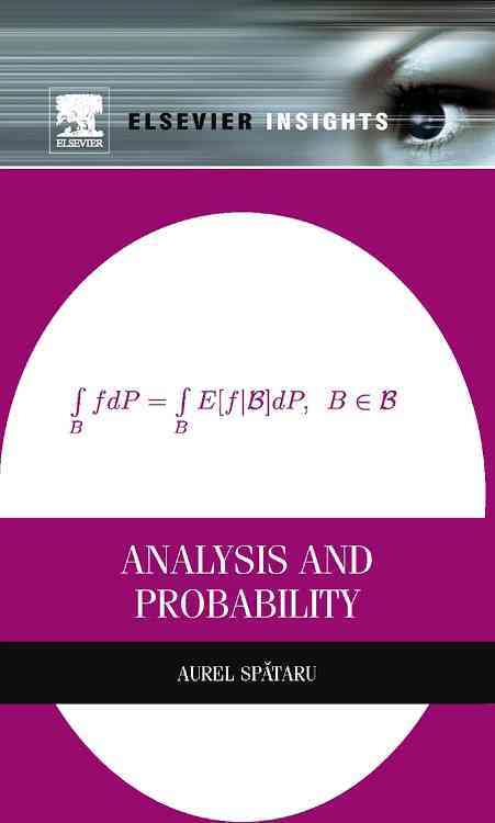 Analysis and Probability By Spataru, Aurel
