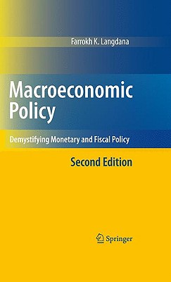 Macroeconomic Policy By Langdana, Farrokh K./ Cox, W. Michael (FRW)
